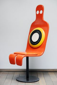 "Roger Tallon, ""Zombie Chair,"" c. 1967  from Design Miami/Basel"