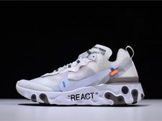 Nike White And Navy Womens World Cup React Element 55 Trainers from ASOS on 21 Buttons