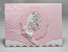 Isn't this a beautiful card by Amy Celena?