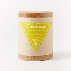 Haus Filled Candles | West Elm