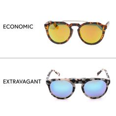 The ultimate vacation accessory, of-the-moment mirrored lenses are the easiest way to transform your look from mundane to head-turning. Round Sunglasses with Mirror Lens, AJ Morgan $25 Atlas 4 Sunglasses, Westward Leaning $185