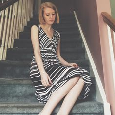Spense Brown and Black Striped Sundress Really cute for the summer! Spense Dresses