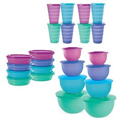 The whole set can be split by your friends and you all save money http://bubbleboyboutique.my.tupperware.com/