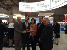 """Portugal stand awarded """"Best Stand Design Overall"""" at EIBTM 2014 - 19.11.2014   EIBTM is the leading global event for the meetings and events industry, held in Barcelona from 18 - 20 Nov 2014   O stand de Portugal ganhou o prémio Best Stand Design Overall da 27.ª edição da EIBTM, uma das feiras mais importantes a nível mundial para a Meeting Industry que decorre em Barcelona, de 18 a 20 de novembro. #EIBTM14 #Portugal #Tourism #Events"""