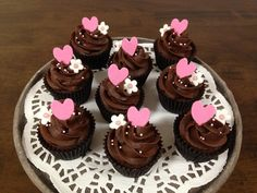 Chocolate love affair cupcakes