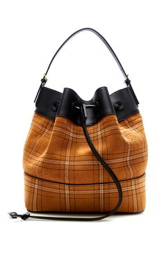 Midnight Stitched Bucket Bag by LOEWE for Preorder on Moda Operandi