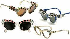 Elsa Schiaparelli Sunglasses 1957. 👓