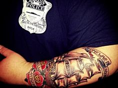 1000+ images about Ink... Usmc Crossed Rifles Tattoo