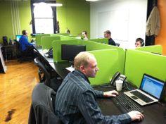 Custom desk dividers in action!!!