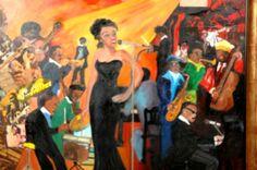 Jazz Singer Allen's Art