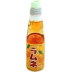 Hata Ramune Soda Orange 6.6 oz