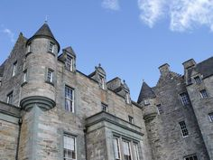 Castle Menzies in Scotland is the ancestral seat of the Clan Menzies. It is located a little to the west of the small village of Weem, near Aberfeldy in the Highlands of Perthshire, close to the former site of Weem Castle, destroyed c. 1502. Wikipedia