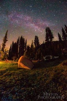 Backpacking in the Olympic Mountain Range, Washington (Melton Photography)