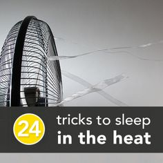 24 Tricks to Survive Hot Summer Nights Without Air Conditioning » The Homestead Survival I didn't try everything but I did try a couple of these for this first month or so of living in the oven-like dorms. The fan/ice/salt thing works for a SMALL area, not the whole room. The loose clothing works super well. And creating a cross breeze with a window fan is essential.