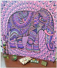 Indian Elephant Tapestry Mandala Hippie Art Wall Hanging Tapestry Beach Towel Bedspread Throw YogaMat Table Cloth Home Decor Bohemian Wall Tapestry, Dorm Tapestry, Tapestry Beach, Indian Tapestry, Tapestry Wall Hanging, Wall Tapestries, Bohemian Dorm, Hippie Tapestries, Boho Hippie