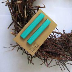 Таньке Мякенькой - Серьги гвоздики палочки 1-6см (мятные) http://shop.gnezdo-supermarket.ru
