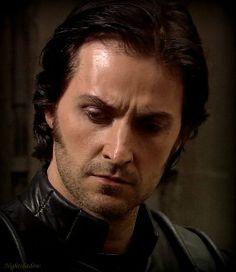 Richard Armitage as Sir Guy of Gisborne.