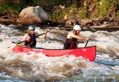Prospector 15 solo canoe by Nova Craft Canoes
