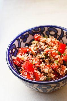 Quinoa Black Bean Salad - great make-ahead lunch