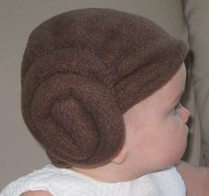 Aunt Christina, Little Princess Leia - in case we need a alternative to the Yoda hat