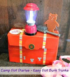 Camp Doll Diaries – Make a Bunk Trunk