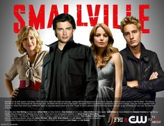 Smallville Season 9 Promo featuring Allison Mack (Chloe Sullivan), Tom Welling (Clark Kent, The Blur), Erica Durance (Lois Lane), and Justin Harley (Oliver Queen/Green Arrow).