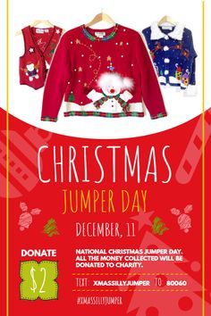 National Christmas Jumper Day 2019.Pinterest
