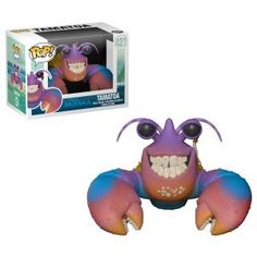 From Moana, Tamatoa, as a stylized POP vinyl from Funko! Collect and display all Moana POP! Figurine Disney, Pop Figurine, Funk Pop, Disney Pop, Disney Pixar, Custom Funko Pop, Funko Pop Vinyl, Funko Figures, Vinyl Figures