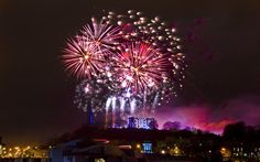 """Hogmanay"" : A guide to celebrating New Year in Edinburgh, Glasgow and other destinations   in Scotland, with details on tickets, street parties, concerts, and   performing acts, plus hotel and train bookings"
