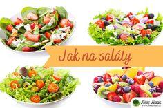 Letní saláty jako od profíka v 6 krocích Fruit Salad, Potato Salad, Salads, Food And Drink, Potatoes, Ethnic Recipes, Fruit Salads, Potato, Salad
