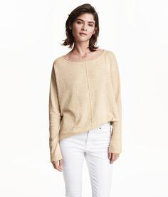 Sieh s dir an! Leicht transparenter Feinstrick-Pullover aus  Baumwollmischung. Der Pullover 5719d144f1