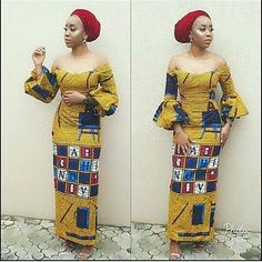 Fittest Ankara Long Gown Styles 2018 - DeZango Fashion Zone