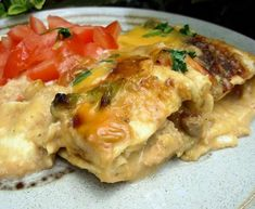 Clearly creamy chicken enchiladas have gone into project mode!
