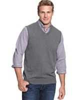 Rule No. 1 of wearing a sweater vest: Never pop the collar. That's ...