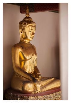 Meditation Patina Gold Bodhi H 14,5cm Buddha Statue Dhyana Mudra