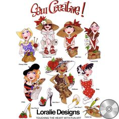 Sew Creative! Embroidery Design Collection | CD