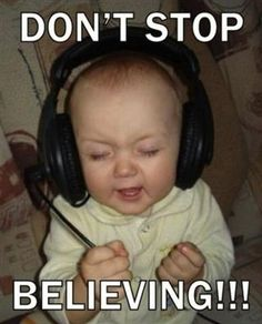 Don't STOP Believing! @Dana Frost