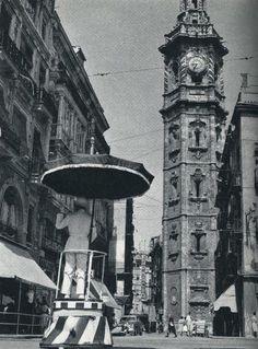 TORRES DE VALENCIA / torre de santa catalina 1960 / vintage photography / cities