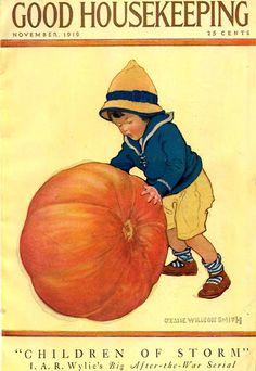 Good Housekeeping magazine cover, November 1919 Jessie Willcox Smith