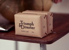 Triumph & Disaster designed by Studio DDMMYY