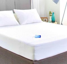 Terry Towelling Waterproof and Breathable Aloe Vera Mattress Protector - Fitted All UK Size (Cot) - Best UK Mattress Store Online King Size Mattress, Best Mattress, Mattress Covers, Bed Covers, Life Space, Beds Online, 19 Days, Mattress Protector, Dust Mites