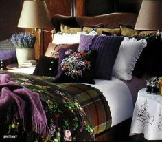*  oooh, very nice purples..............