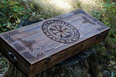 Viking hammer with Vegvisir Symbol carpentry woodwork | Etsy Blacksmith Hammer, Hammer Tool, Viking Axe, Viking Runes, Personalised Box, Personalized Gifts, Viking Protection Rune, Special Symbols, Vegvisir