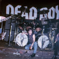 Stiv Bators of The Dead Boys photographed ca. 1978 by Mykel Board