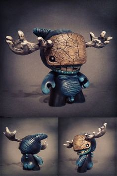 "Shadoe Delgado's ""Miniboss"" custom Munny"