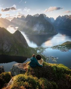 Maria Jose, Lofoten, Mountain Landscape, Wonders Of The World, Norway, Videos, Find Image, The Good Place, Waterfall
