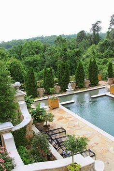 Pool Terraced Landscaping