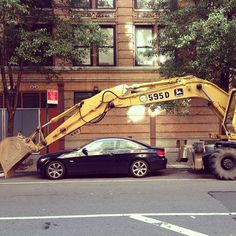 Some People Will Do Anything For A Parking Spot In New York