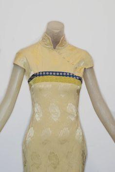 Rare Vintage: Nan Kempner's John Galliano for Christian Dior 1997 Cheongsam