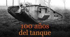 Historia del tanque. Infografía animada.